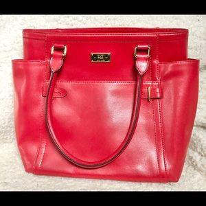 Lauren by Ralph Lauren Big red shoulder bag NWOT